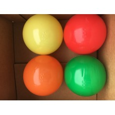 "Four Color 80MM 3 1/8"" Playpen Balls & Ball Pit Balls"