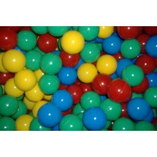 "Four Color 50MM 2"" Playpen Balls & Ball Pit Balls"