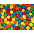 "Five Color 80MM 3 1/8"" Playpen Balls & Ball Pit Balls"