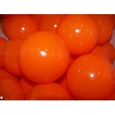 "Orange 80MM 3 1/8"" Playpen Balls & Ball Pit Balls"