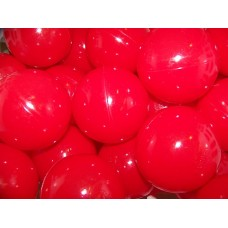 "Red 80MM 3 1/8"" Playpen Balls & Ball Pit Balls"
